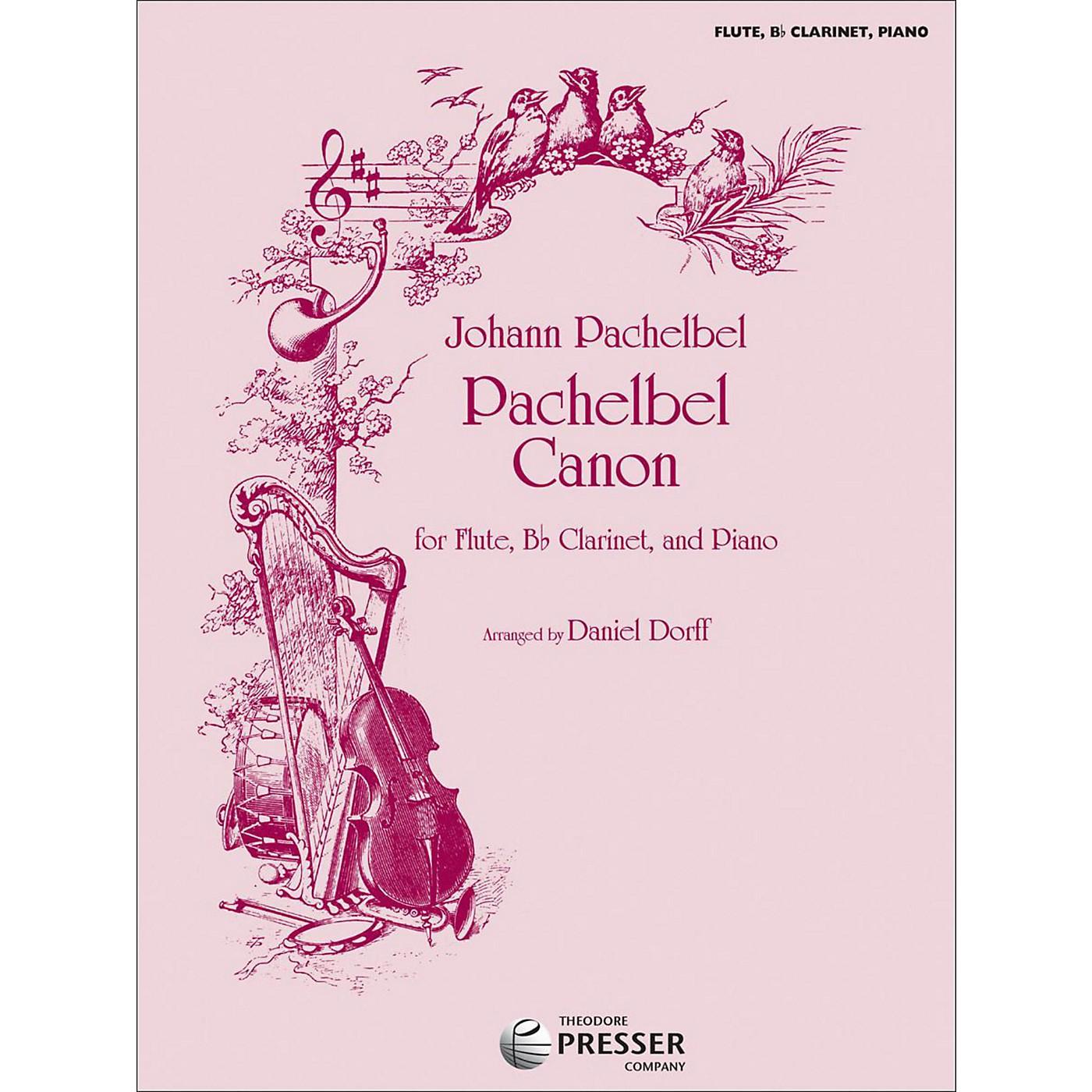 Carl Fischer Pachelbel Canon - Flute/Bb Clarinet/Piano thumbnail