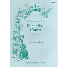 Carl Fischer Pachelbel Canon (for Violin and Piano)