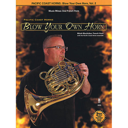 Hal Leonard Pacific Coast Horns - Blow Your Own Horn, Vol. 2 for French Horn Book/2CD-thumbnail