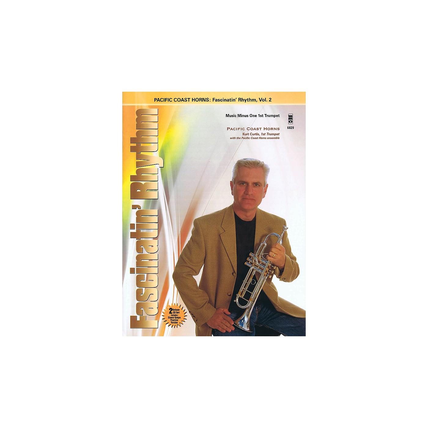 Hal Leonard Pacific Coast Horns - Fascinatin' Rhythm Vol. 2 for Trumpet Book/2CD thumbnail