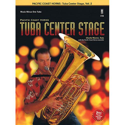 Hal Leonard Pacific Coast Horns - Tuba Center Stage, Vol. 2 Book/2CD thumbnail
