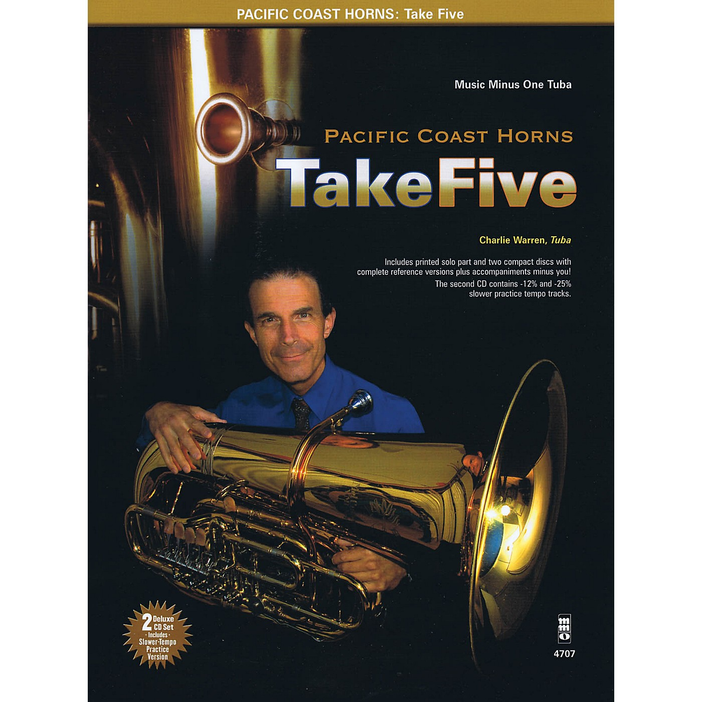 Music Minus One Pacific Coast Horns, Volume 1 - Take Five Music Minus One Series Softcover with CD by Pacific Coast Horns thumbnail