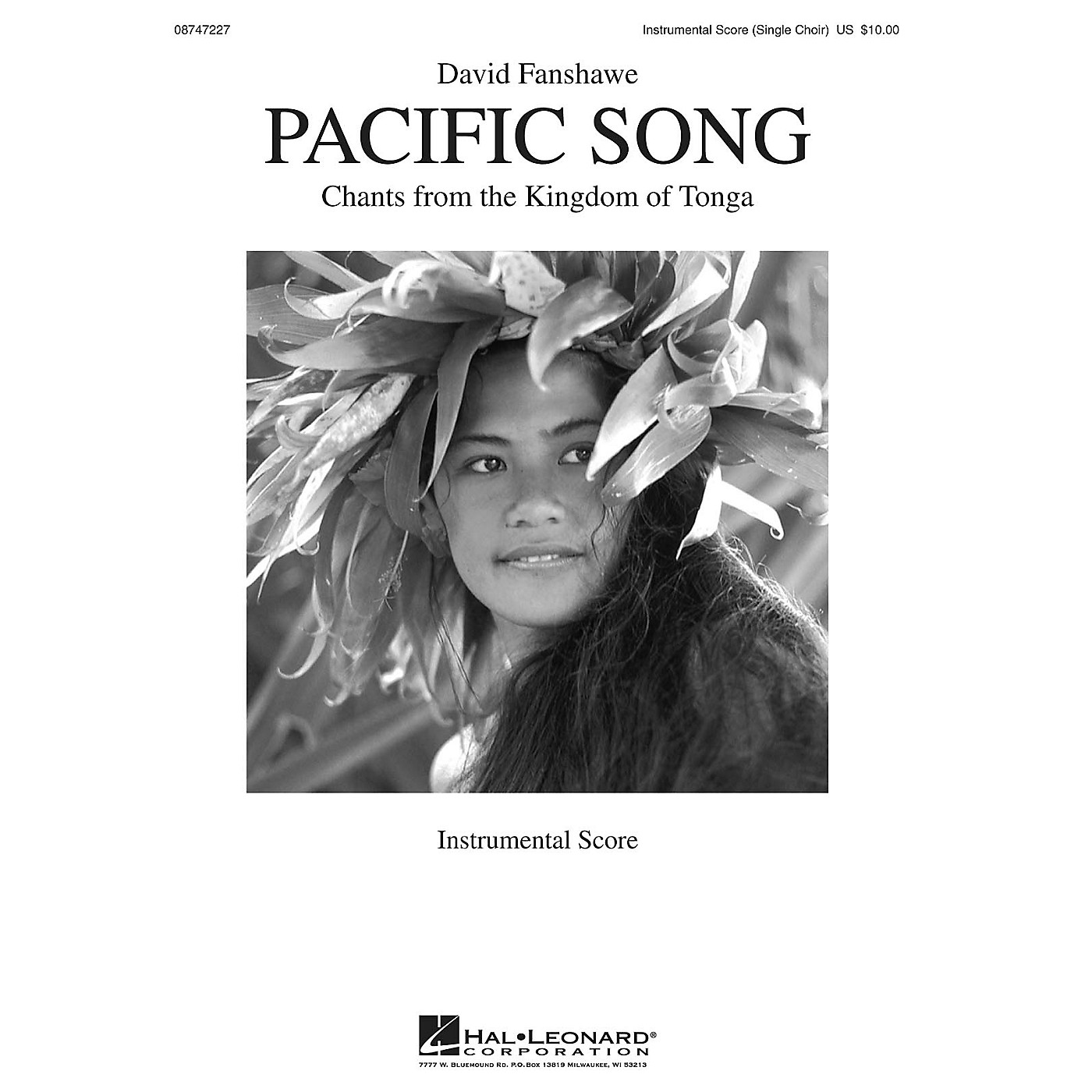 Hal Leonard Pacific Song (Chants from the Kingdom of Tonga) Score composed by David Fanshawe thumbnail