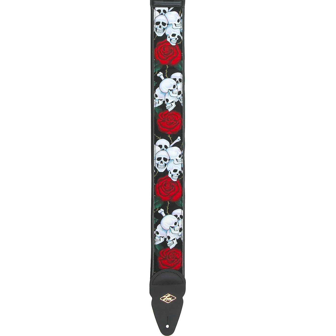 LM Products Padded Designer Nylon Guitar Strap thumbnail
