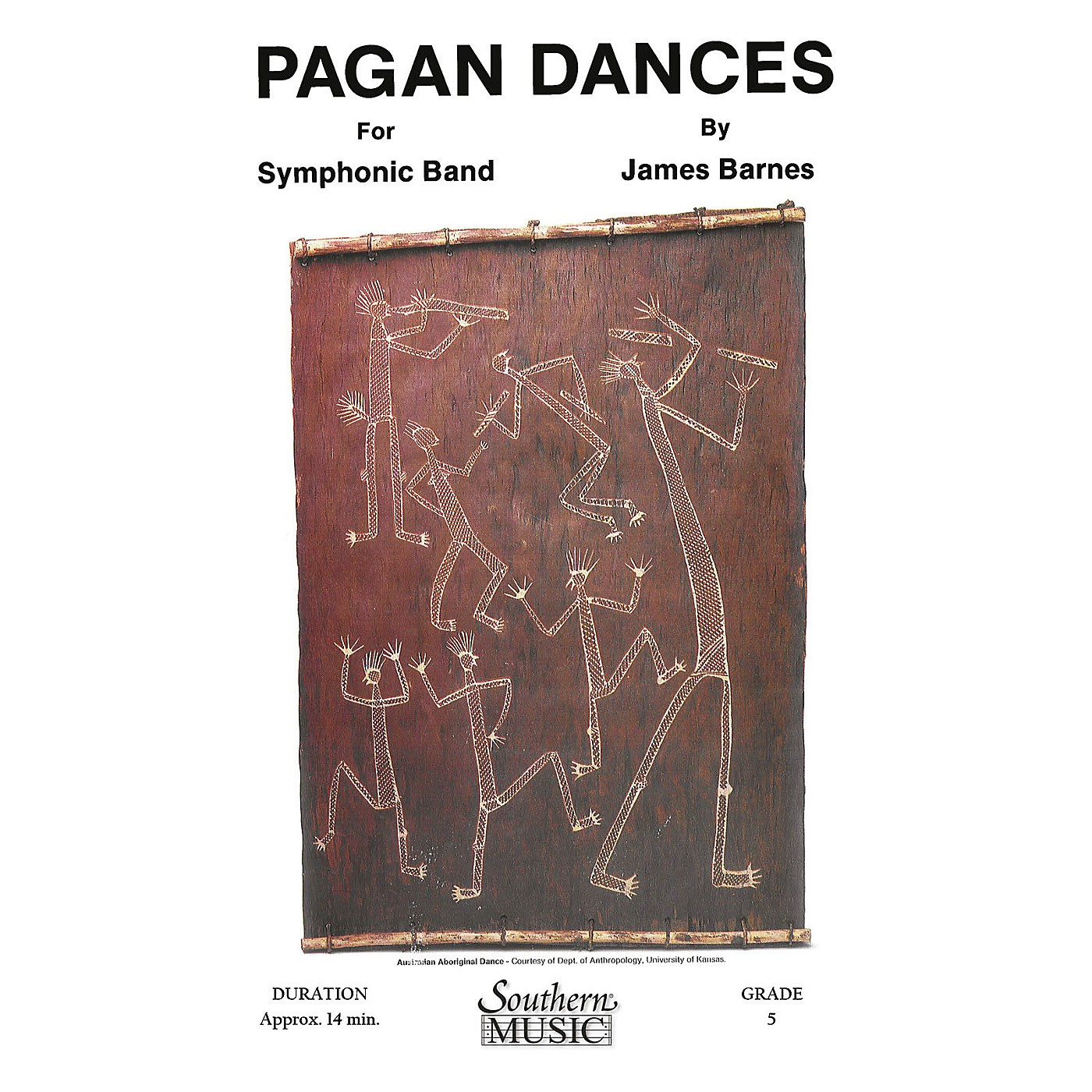 Southern Pagan Dances (with Oversized Score) Concert Band Level 5 Composed by James Barnes thumbnail