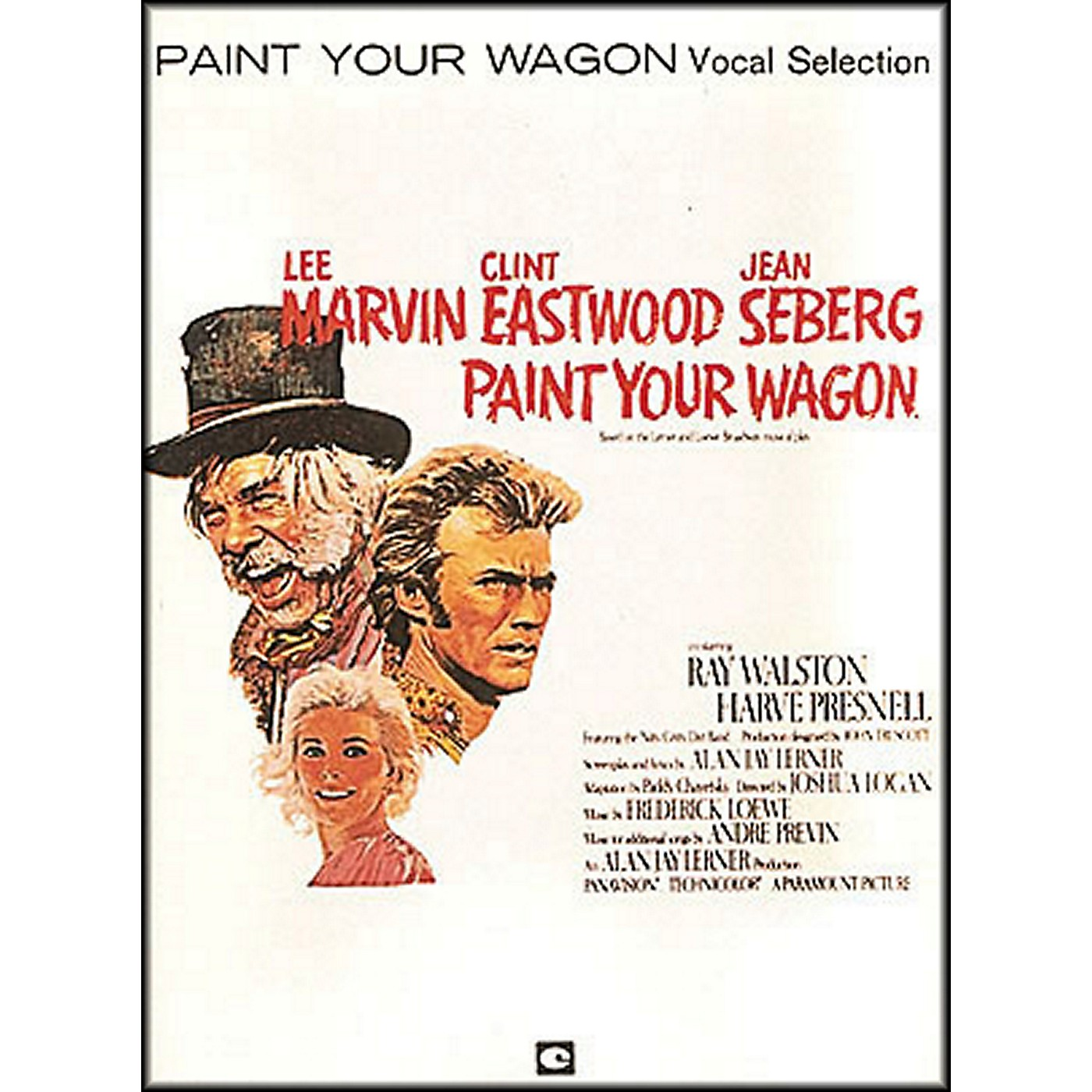 Hal Leonard Paint Your Wagon Vocal Selections arranged for piano, vocal, and guitar (P/V/G) thumbnail