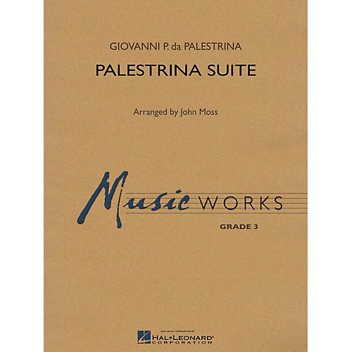 Hal Leonard Palestrina Suite Concert Band Level 3 Arranged by John Moss thumbnail