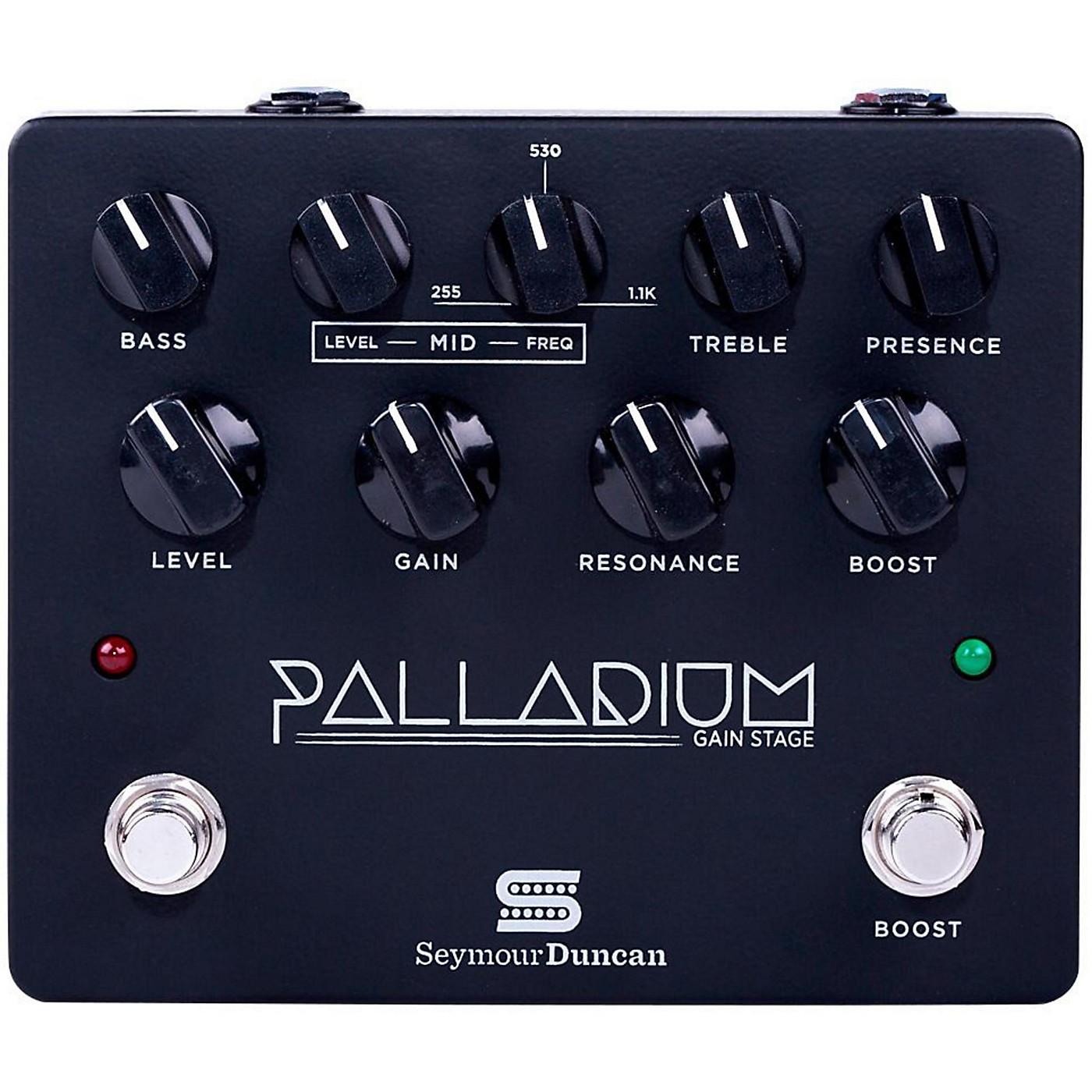 Seymour Duncan Palladium Gain Stage Distortion Guitar Effects  Pedal (Black) thumbnail