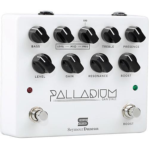 Seymour Duncan Palladium Gain Stage Distortion Guitar Effects  Pedal (White) thumbnail