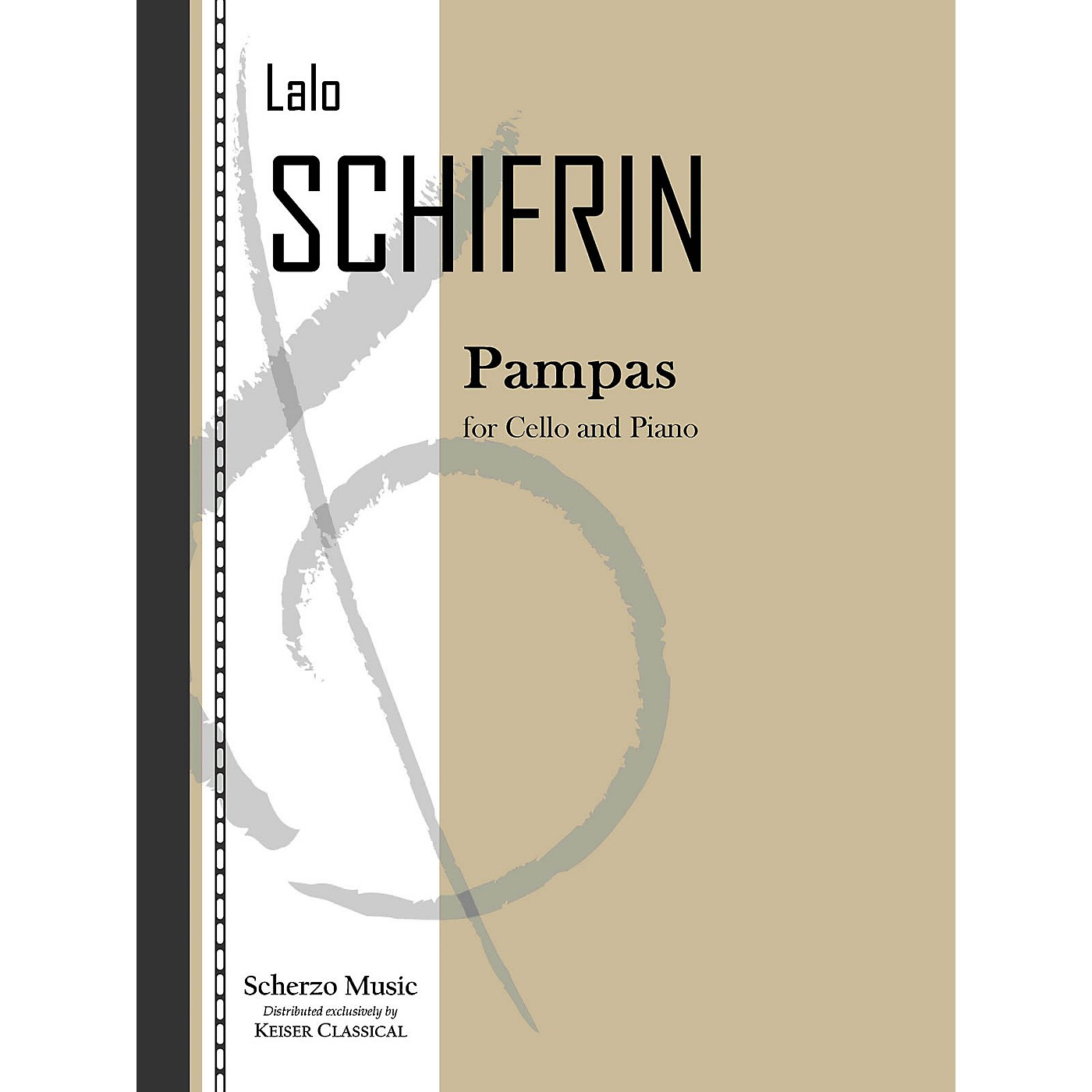 Lauren Keiser Music Publishing Pampas (Cello and Piano) LKM Music Series Composed by Lalo Schifrin thumbnail
