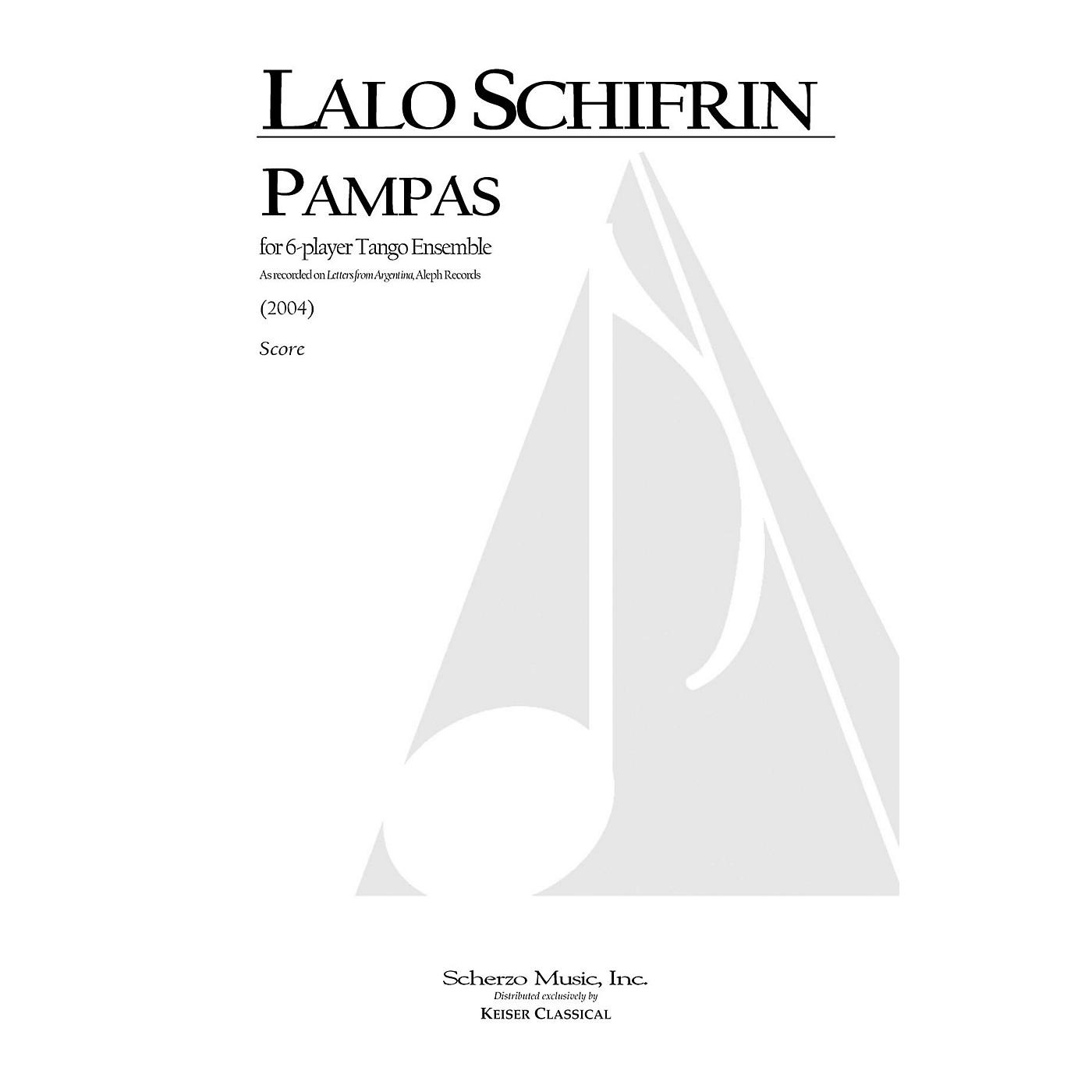 Lauren Keiser Music Publishing Pampas (for 6-Player Tango Ensemble) LKM Music Series by Lalo Schifrin thumbnail