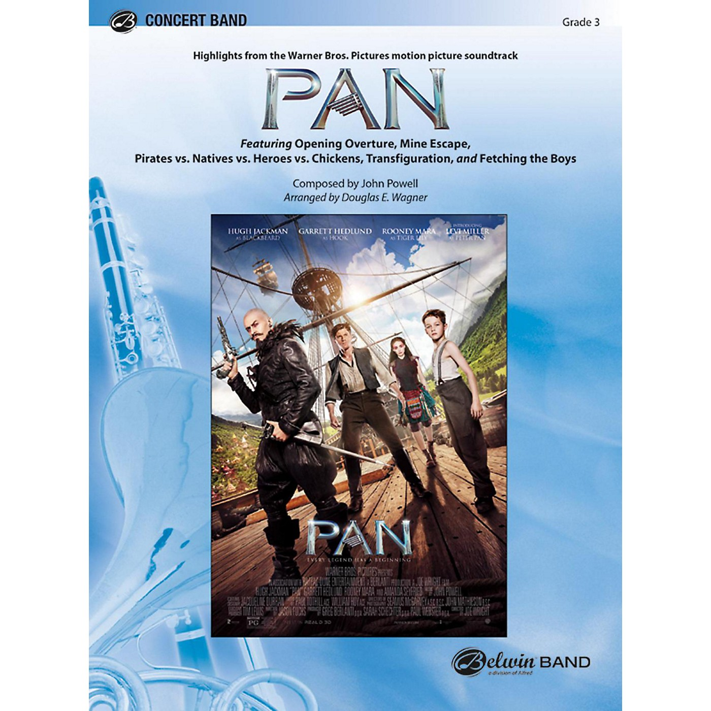 BELWIN Pan: Highlights from the Warner Bros. Pictures Motion Picture Soundtrack Grade 3 (Medium Easy) thumbnail