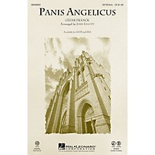 Hal Leonard Panis Angelicus SATB Chorus and Solo arranged by John Leavitt