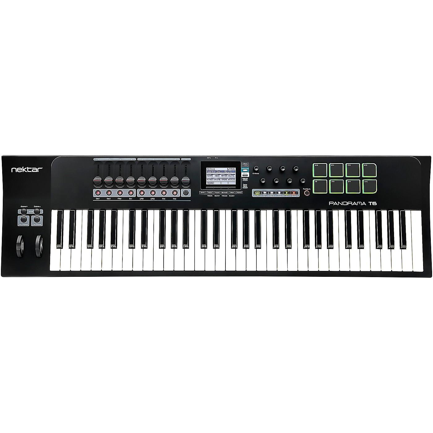 Nektar Panorama T6 61-Key USB MIDI Keyboard Controller thumbnail
