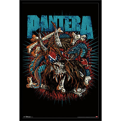 Trends International Pantera - Rocker Skull Poster thumbnail