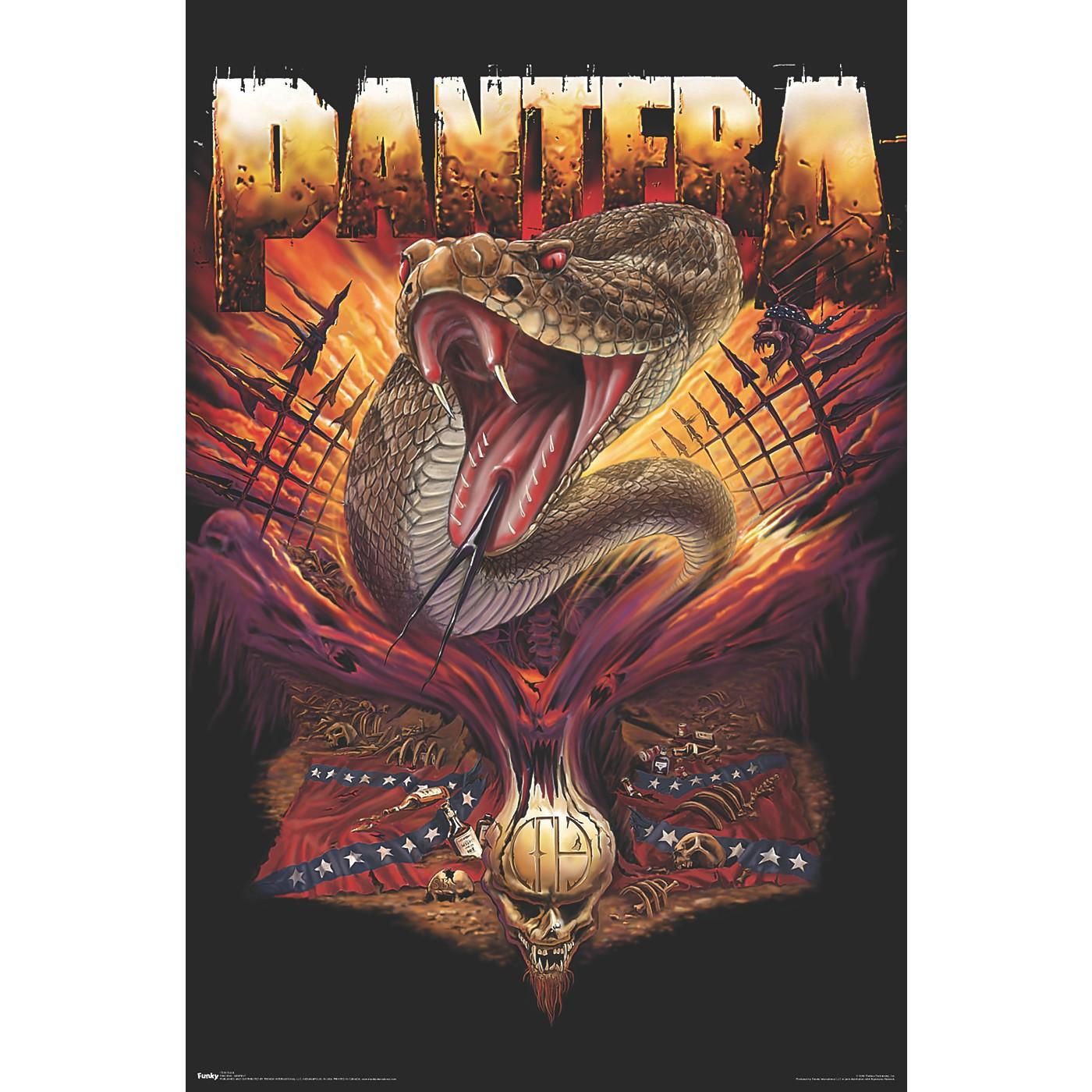 Trends International Pantera - Serpent Poster thumbnail