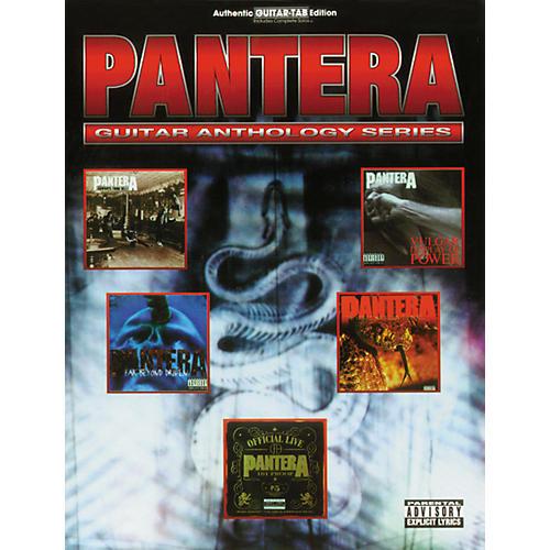 Alfred Pantera Anthology Guitar Tab Songbook thumbnail