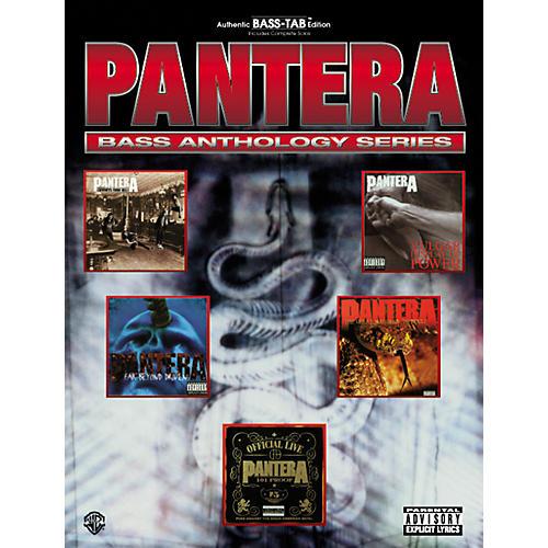 Alfred Pantera Bass Guitar Tab Book thumbnail