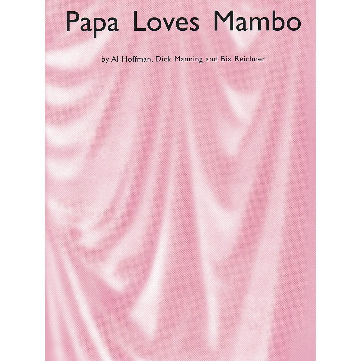 Music Sales Papa Loves Mambo Music Sales America Series thumbnail