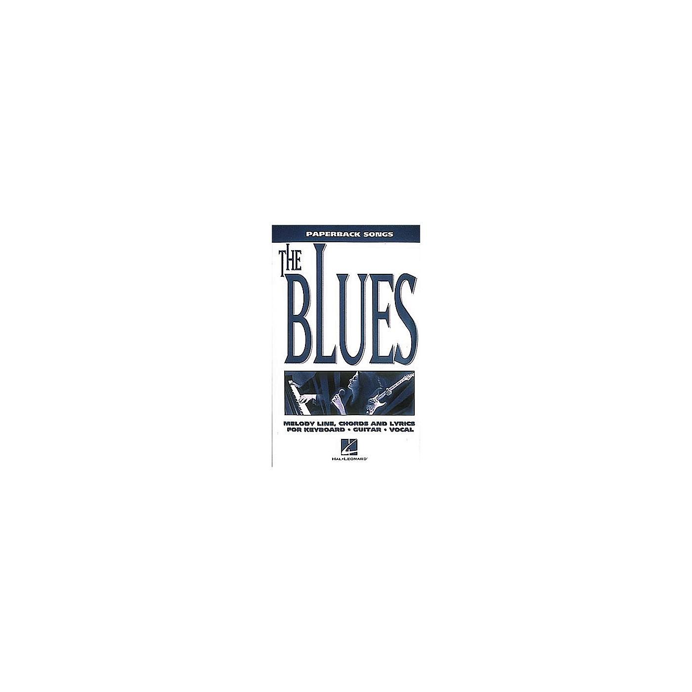 Hal Leonard Paperback Songs - The Blues thumbnail
