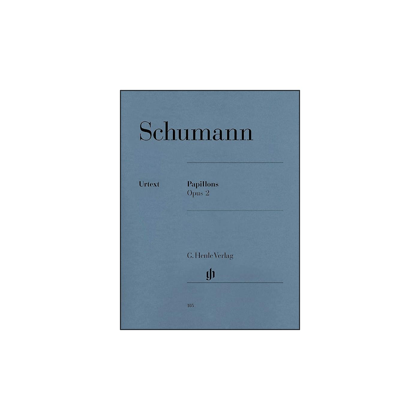G. Henle Verlag Papillons Op. 2 By Schumann thumbnail