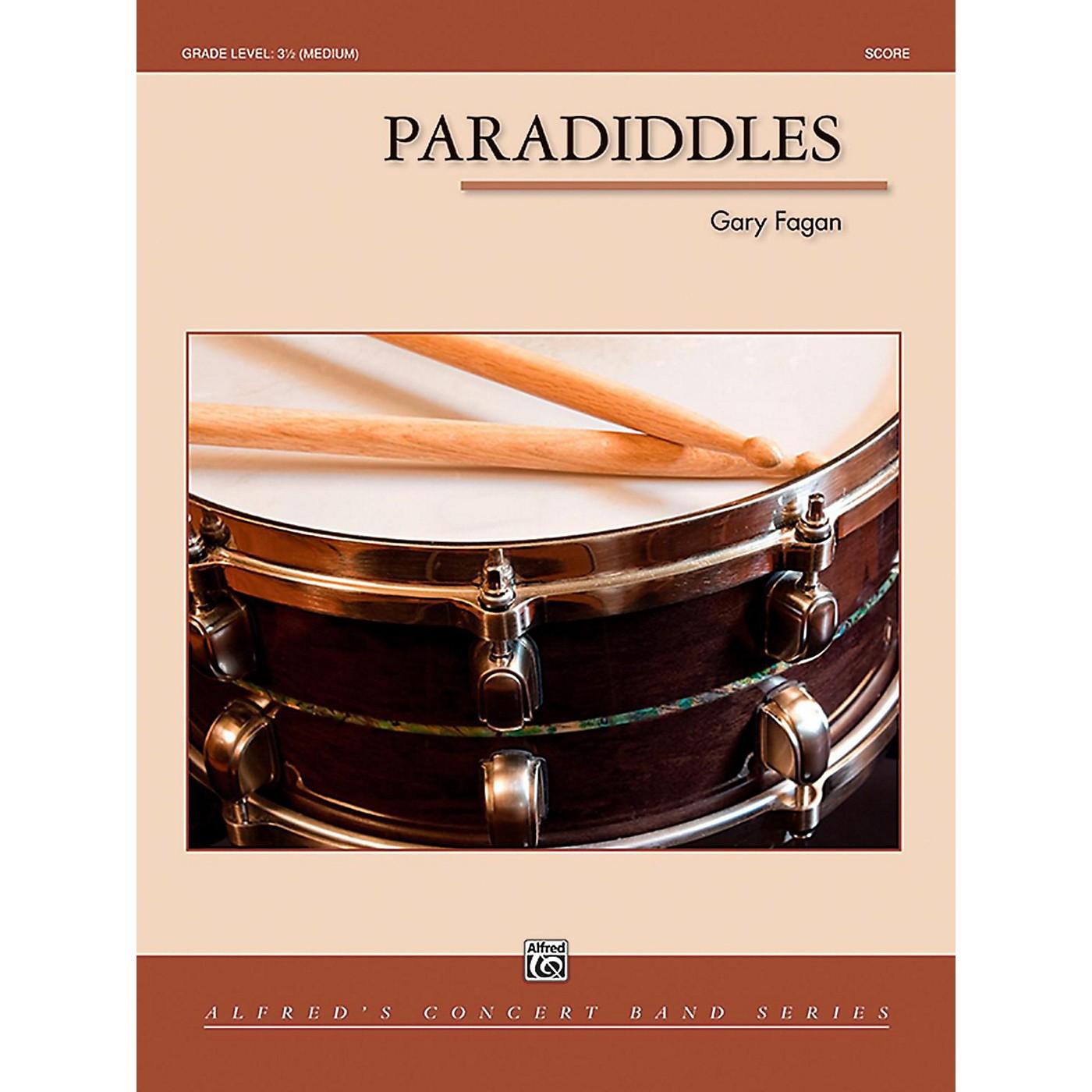 Alfred Paradiddles Concert Band Grade 3.5 (Medium) thumbnail