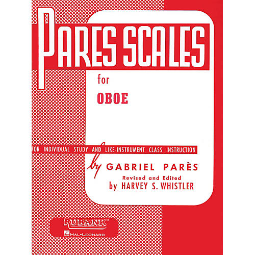Hal Leonard Pares Scales For Oboe thumbnail