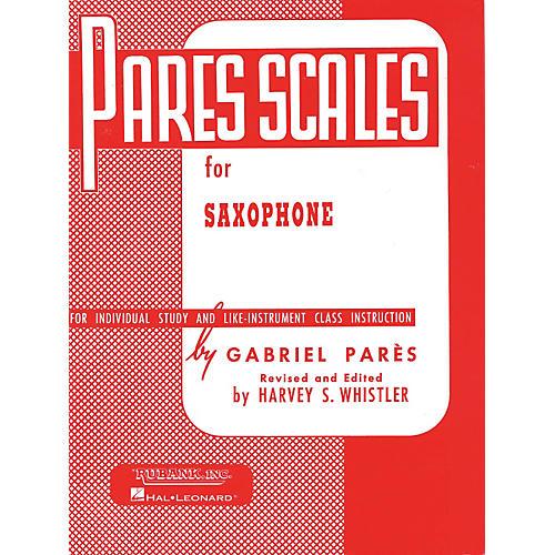 Hal Leonard Pares Scales For Saxophone-thumbnail