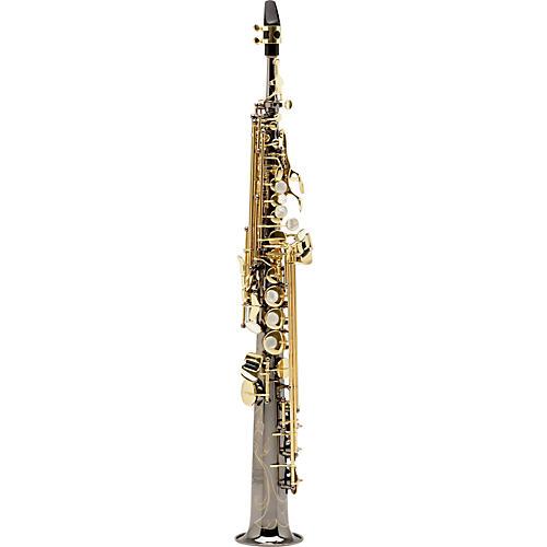Allora Paris Series Professional Straight Soprano Saxophone with 2 Necks thumbnail