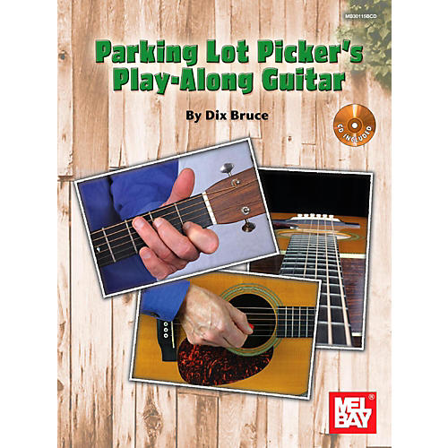 Mel Bay Parking Lot Picker's Play-Along Guitar thumbnail