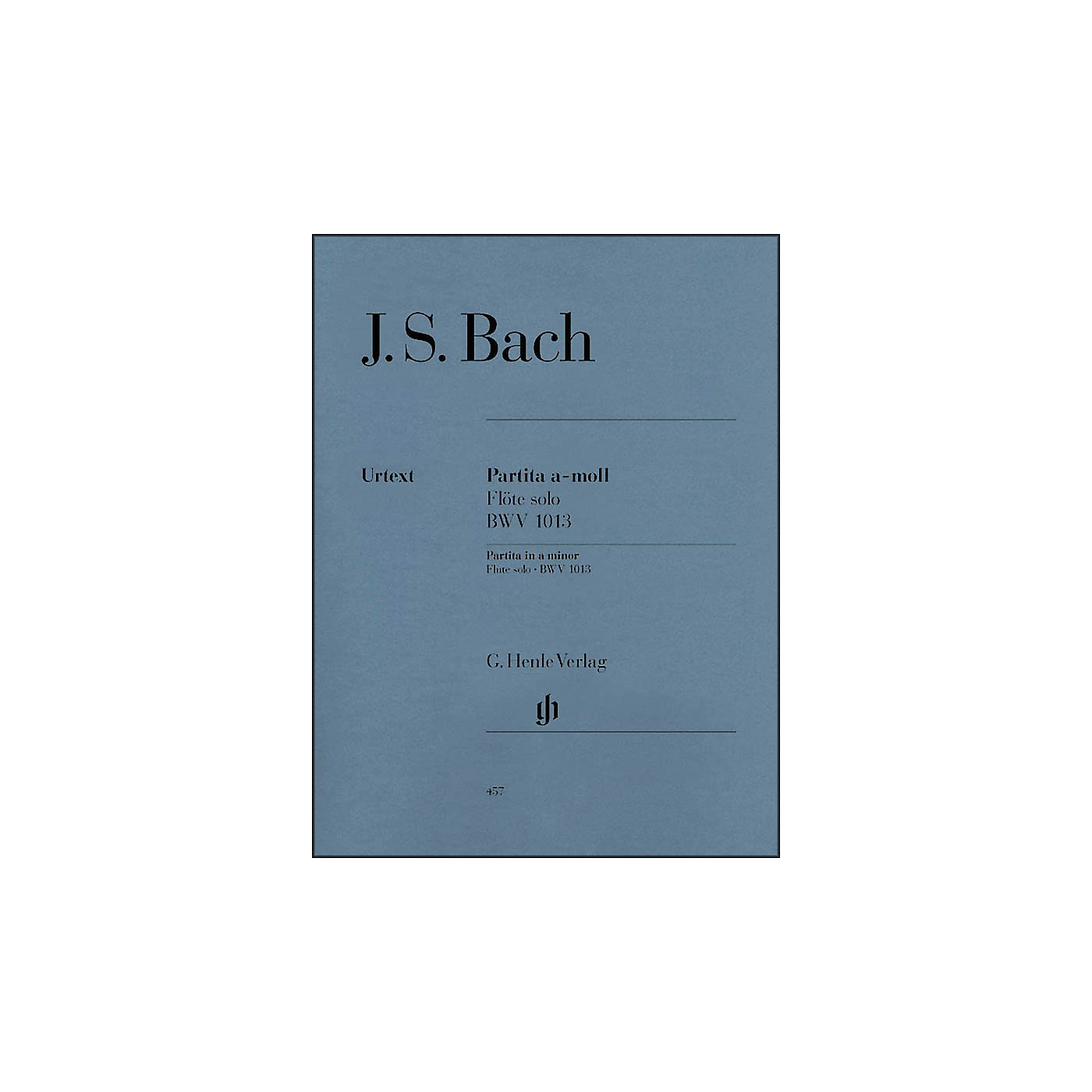 G. Henle Verlag Partita for Flute Solo In A Minor, BWV 1013 By Bach thumbnail