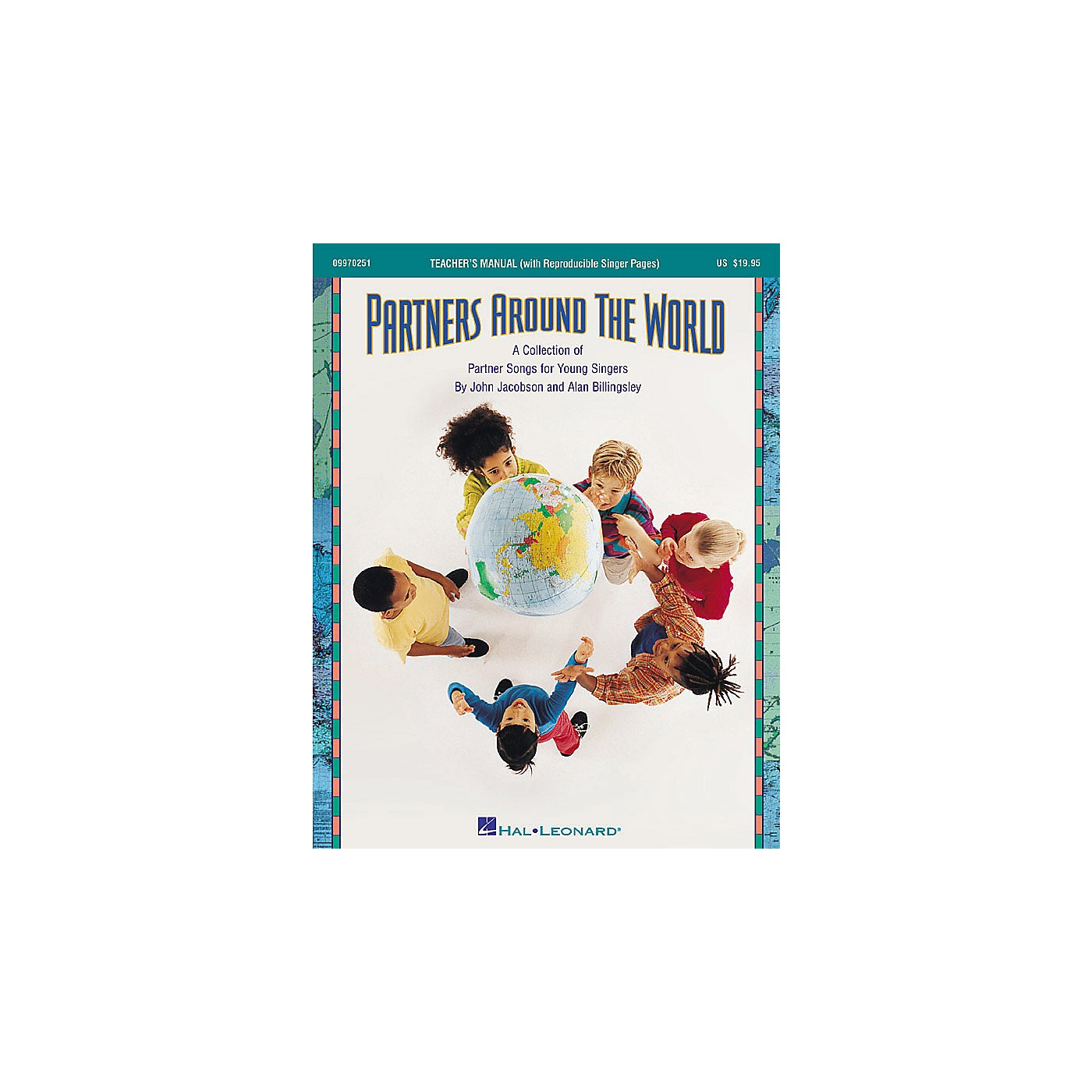 Hal Leonard Partners Around the World (Collection of Partner Songs) ShowTrax CD Composed by John Jacobson thumbnail