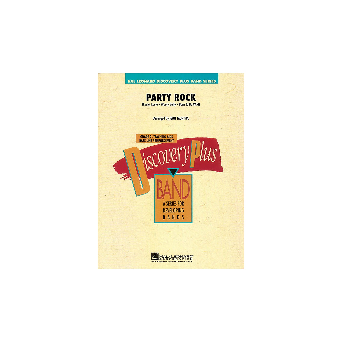 Hal Leonard Party Rock - Discovery Plus Band Level 2 arranged by Paul Murtha thumbnail