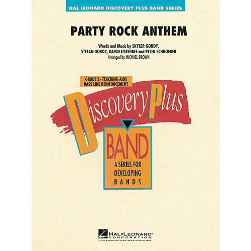 Hal Leonard Party Rock Anthem - Discovery Plus! Band Series Level 2 thumbnail