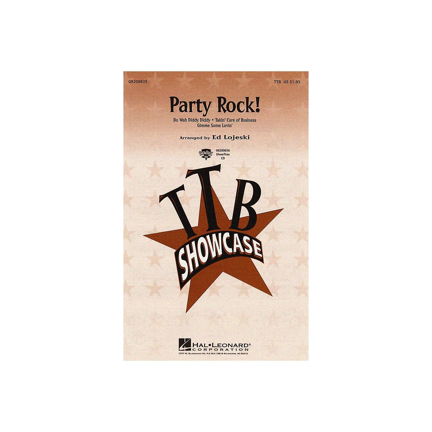Hal Leonard Party Rock! (Medley) ShowTrax CD Arranged by Ed Lojeski thumbnail