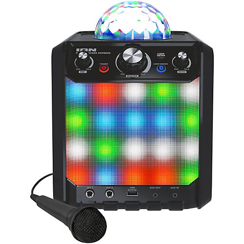 ION Party Rocker Express Bluetooth Speaker with Light Show and Microphone thumbnail