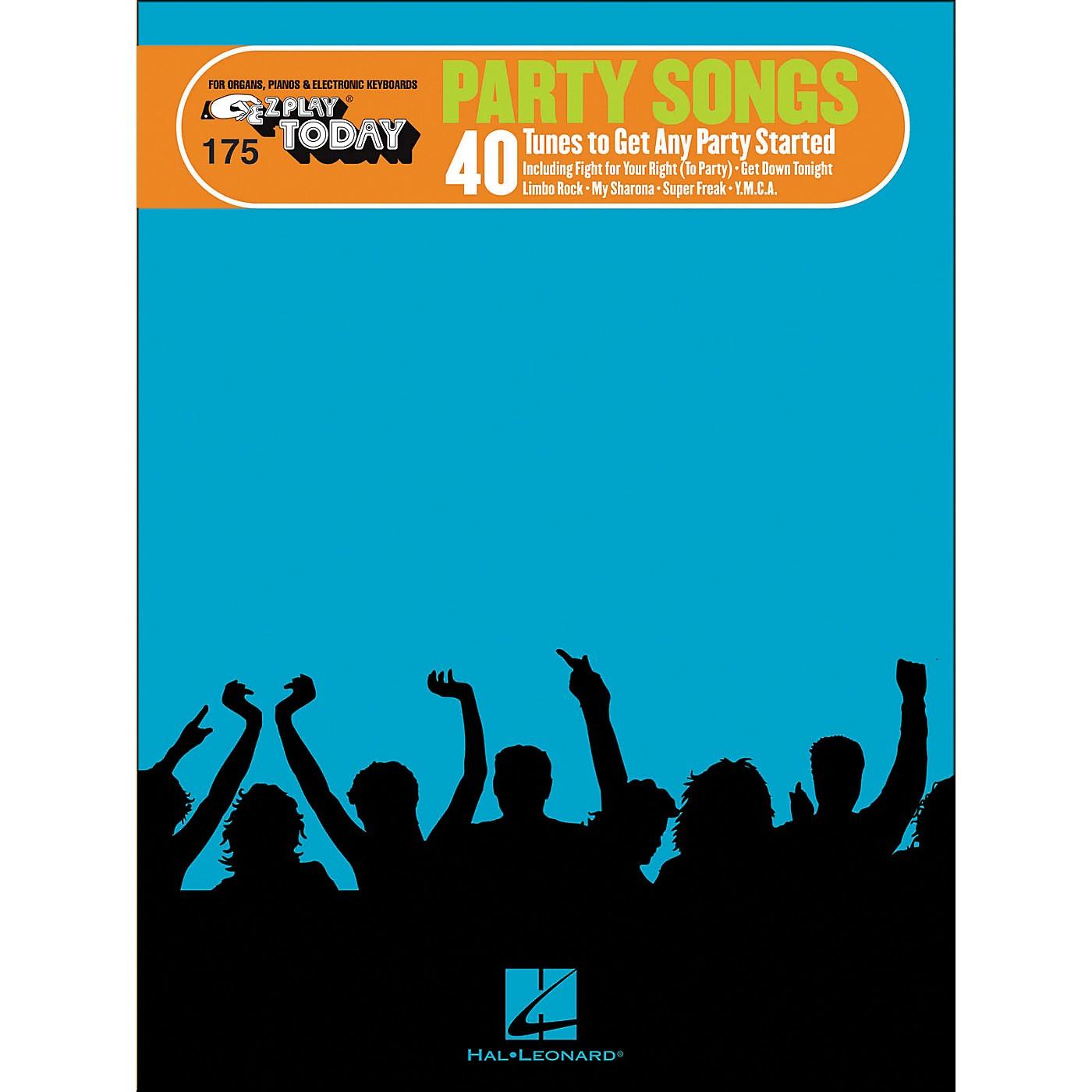 Hal Leonard Party Songs E-Z Play 175 thumbnail