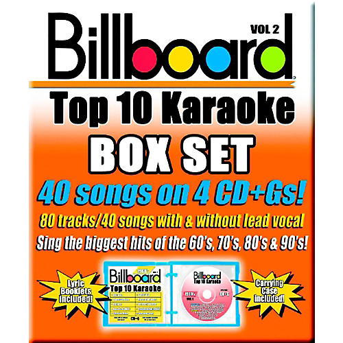 Sybersound Party Tyme Karaoke - Billboard Box Set 2 thumbnail