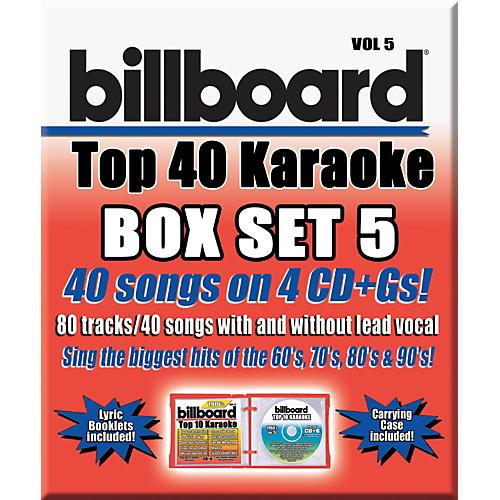 Sybersound Party Tyme Karaoke - Billboard Box Set 5 thumbnail