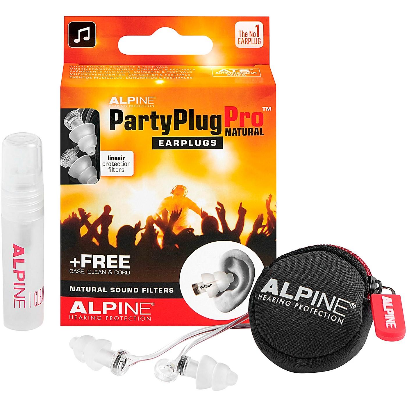 Alpine Hearing Protection PartyPlug Pro Natural Earplugs thumbnail