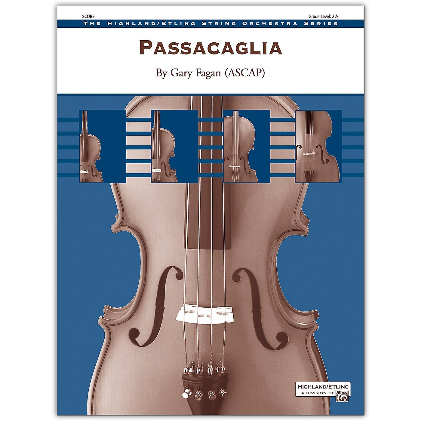 Alfred Passacaglia Conductor Score 2.5 thumbnail