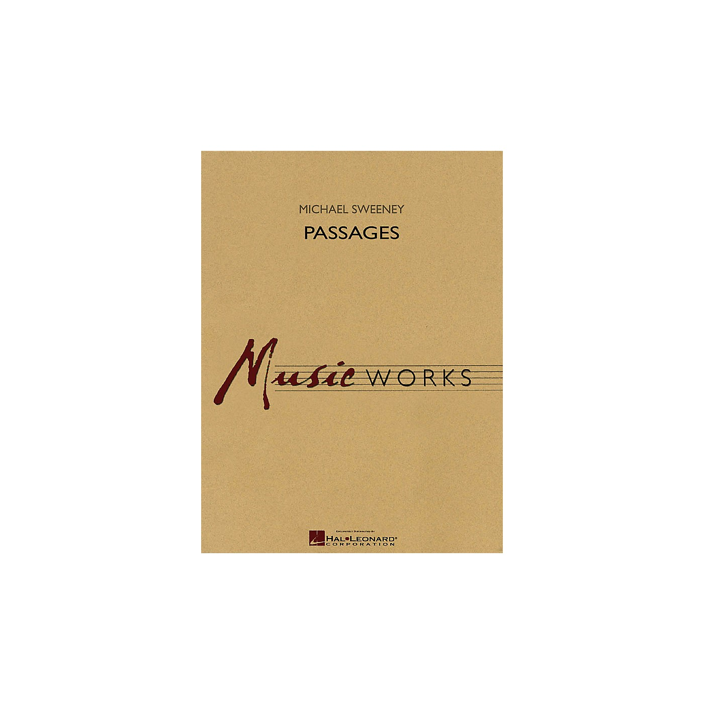 Hal Leonard Passages Concert Band Level 4 Composed by Michael Sweeney thumbnail