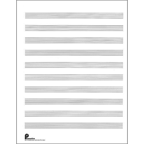 Music Sales Passantino Music Paper Filler No.2 96 Pages, 8.5X11, 3 Ring thumbnail