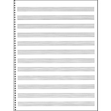 Music Sales Passantino Spiral Book #75 64 Pages, 12 Stave, 9 X 12