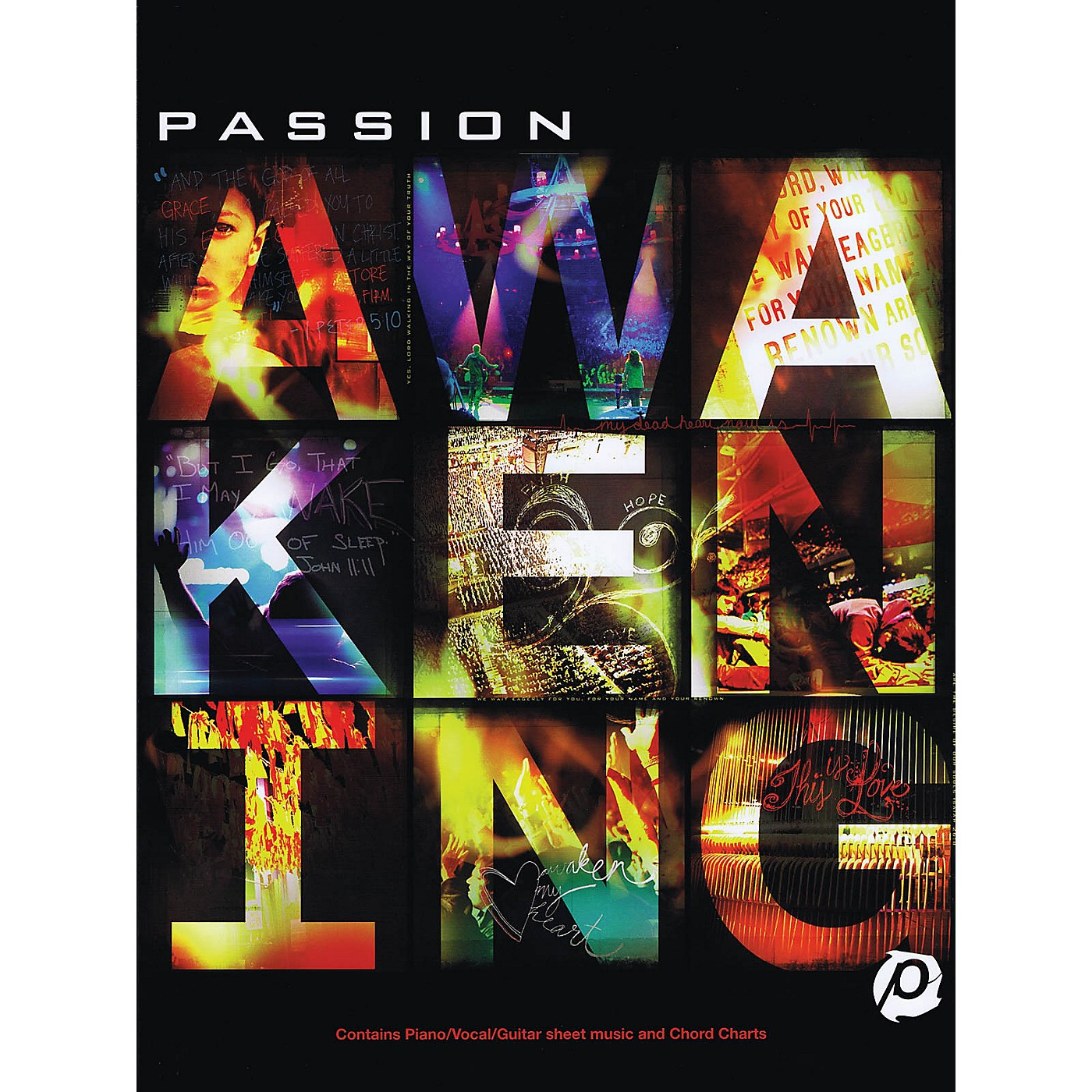 Hal Leonard Passion - Awakening Sacred Folio Series Softcover Performed by Passion thumbnail