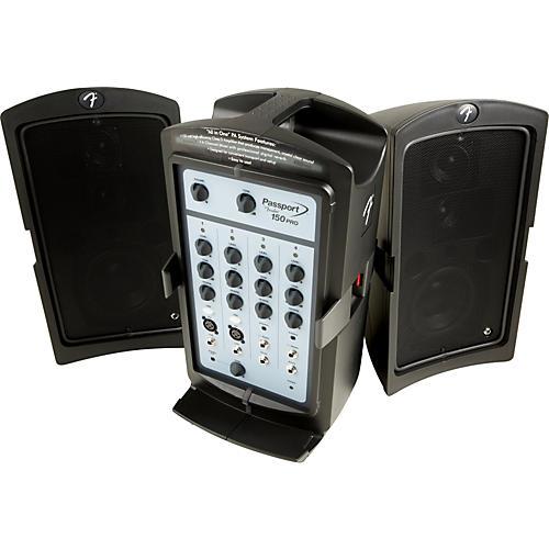 Fender Passport 150 PRO Portable PA System-thumbnail