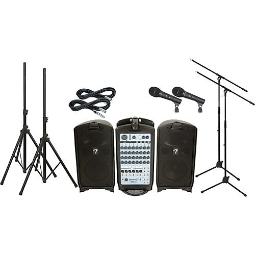Fender Passport 500 Pro PA Package with 2 Mics-thumbnail