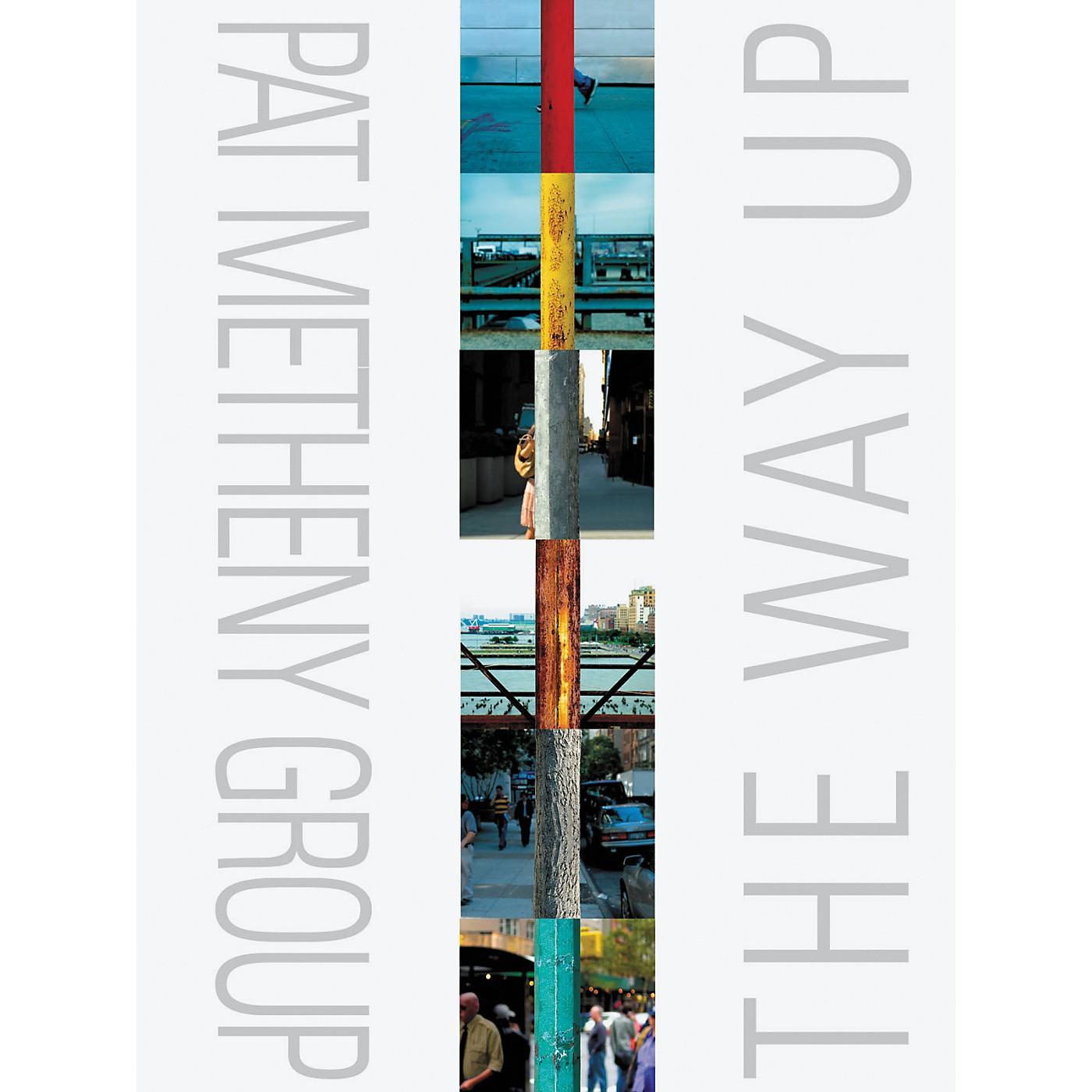 Hal Leonard Pat Metheny - The Way Up - Transcribed Score Book thumbnail