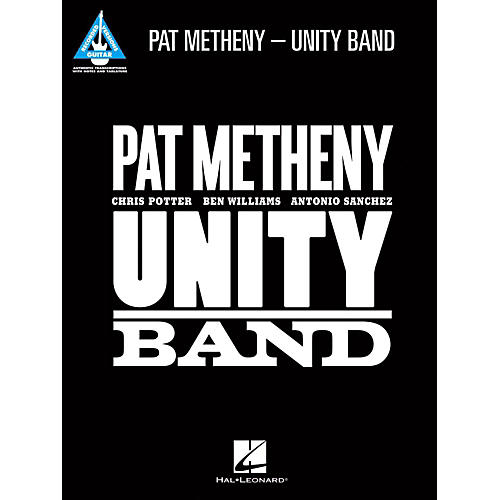 Hal Leonard Pat Metheny - Unity Band Guitar Tab Songbook thumbnail