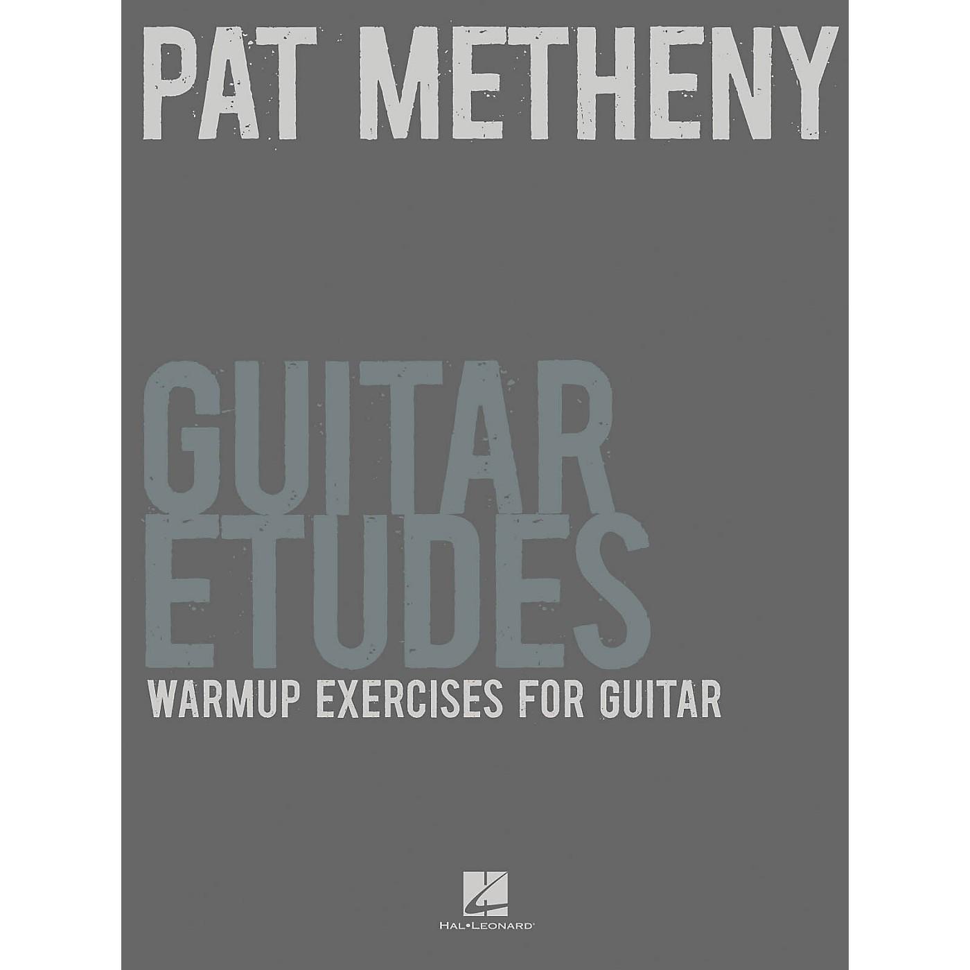 Hal Leonard Pat Metheny Guitar Etudes - Warmup Exercises For Guitar thumbnail